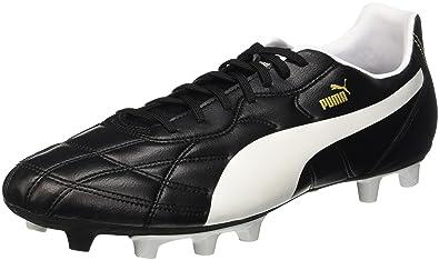 5fa9f2459 Puma Men s ClassicoiFG Black and White Football Boots - 9 UK India (43 EU