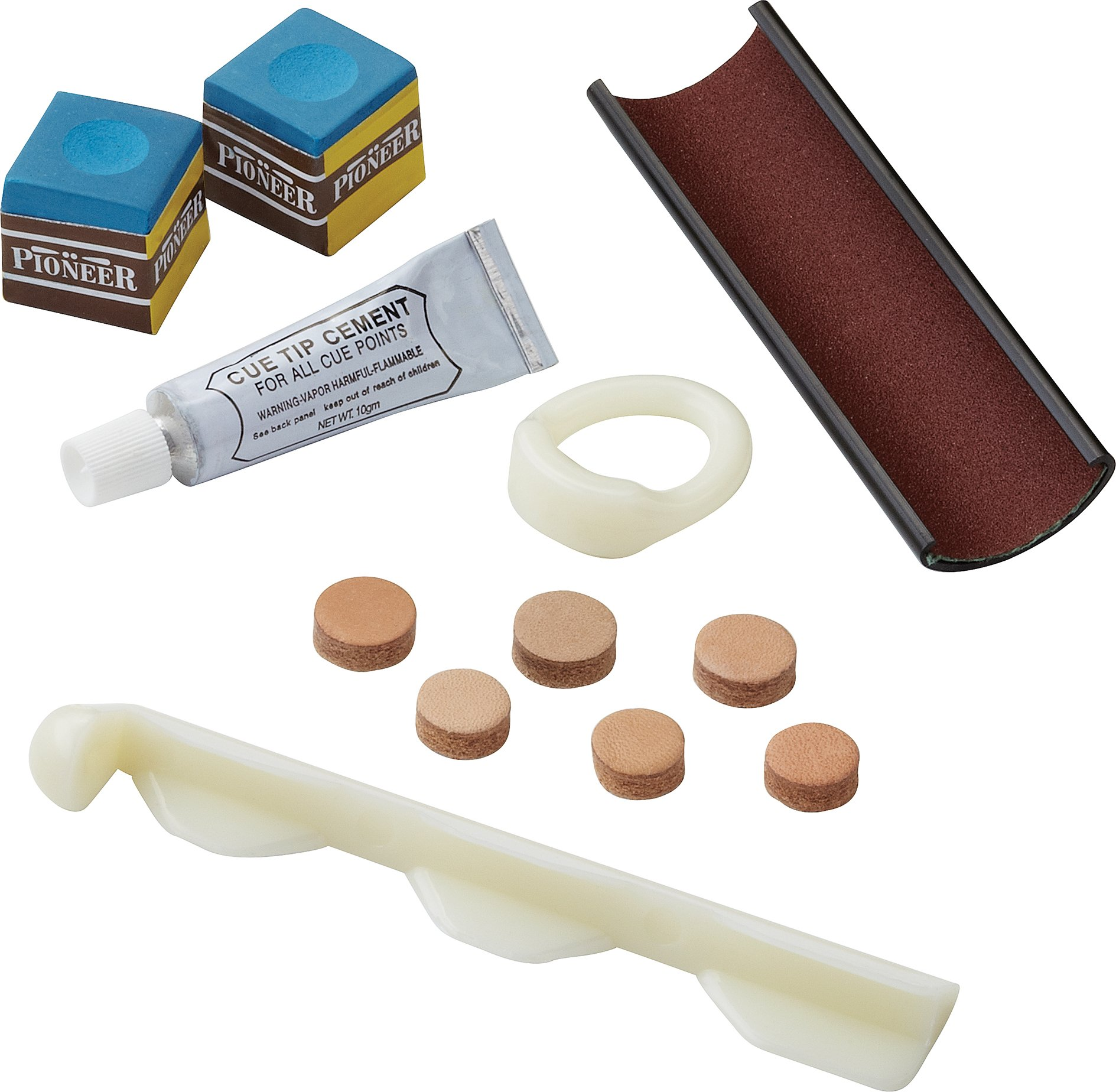 Fat Cat Billiard/Pool Cue Accessory: Billiard Cue Repair/Maintenance Kit