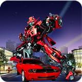 Ball Robot Transformation VS Robots City Battle