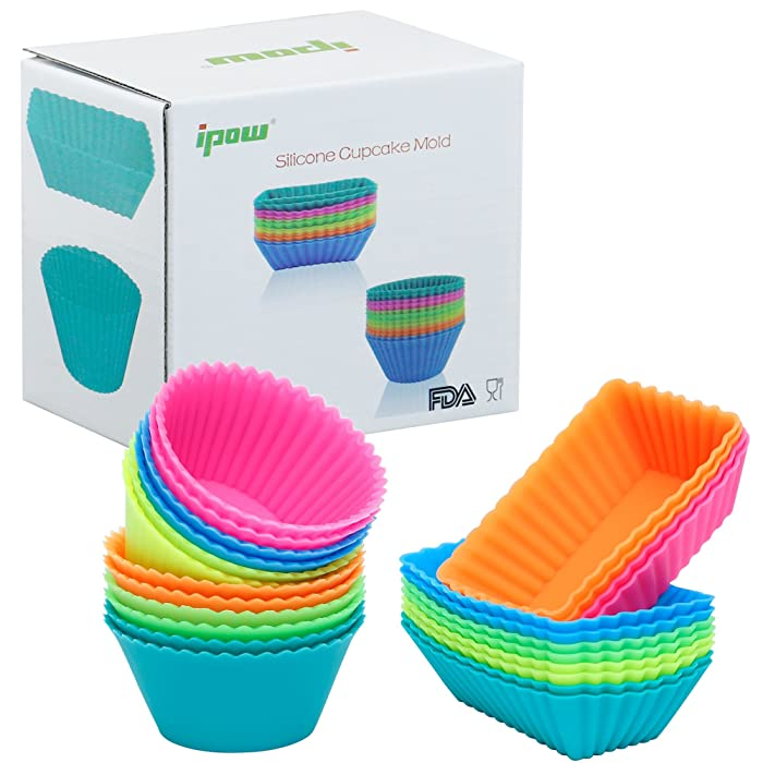 Top 10 Food Grade Safe Silicone Cupcake Baking Cups