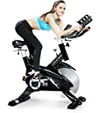 L NOW Indoor Cycling Bike Trainer Belt Drive and Sturdy