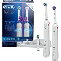Oral-B Smart 5 5000 Electric Toothbrush White Dual Handle