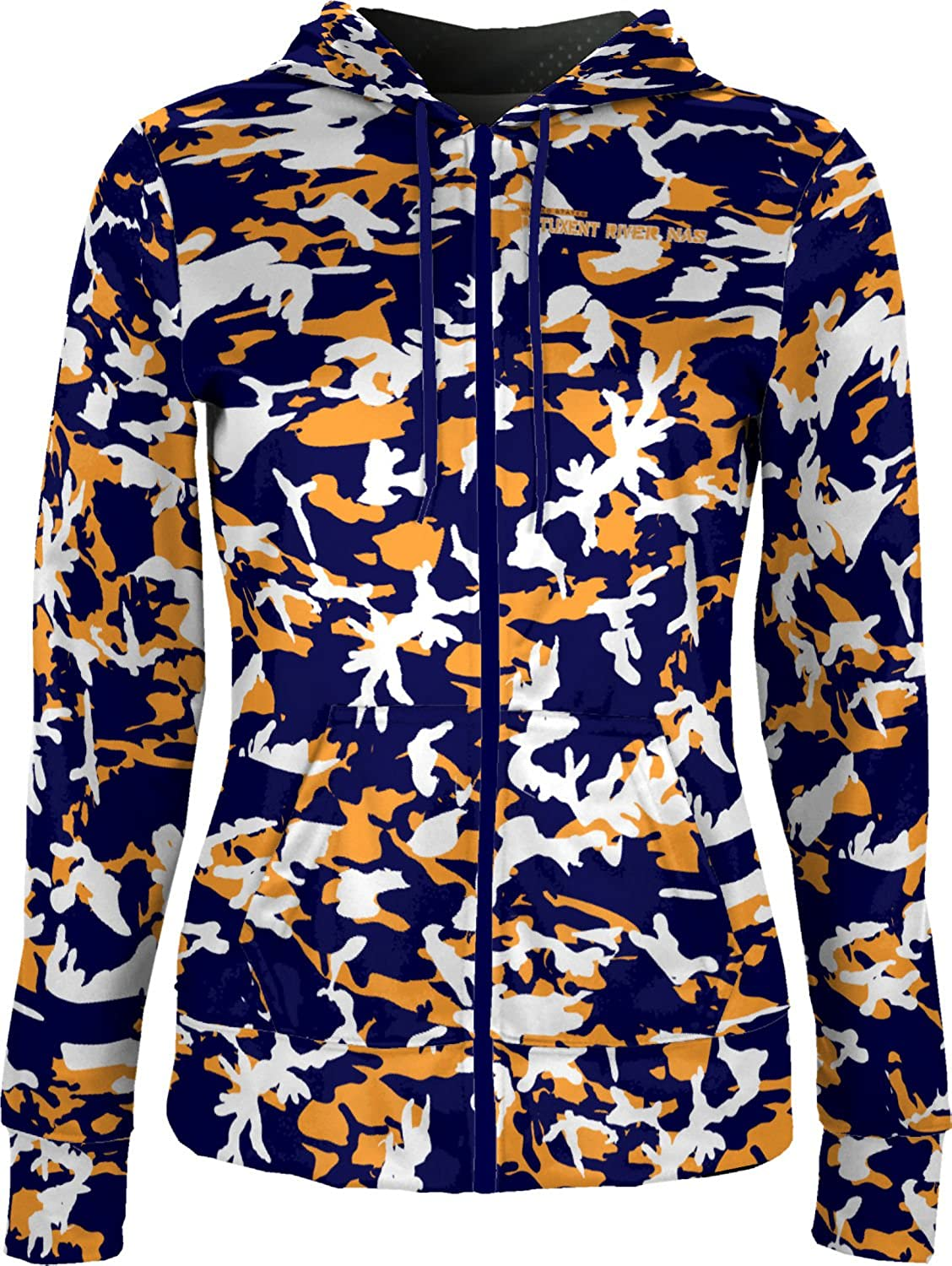 ProSphere Women's Patuxent River NAS Military Camo Fullzip Hoodie
