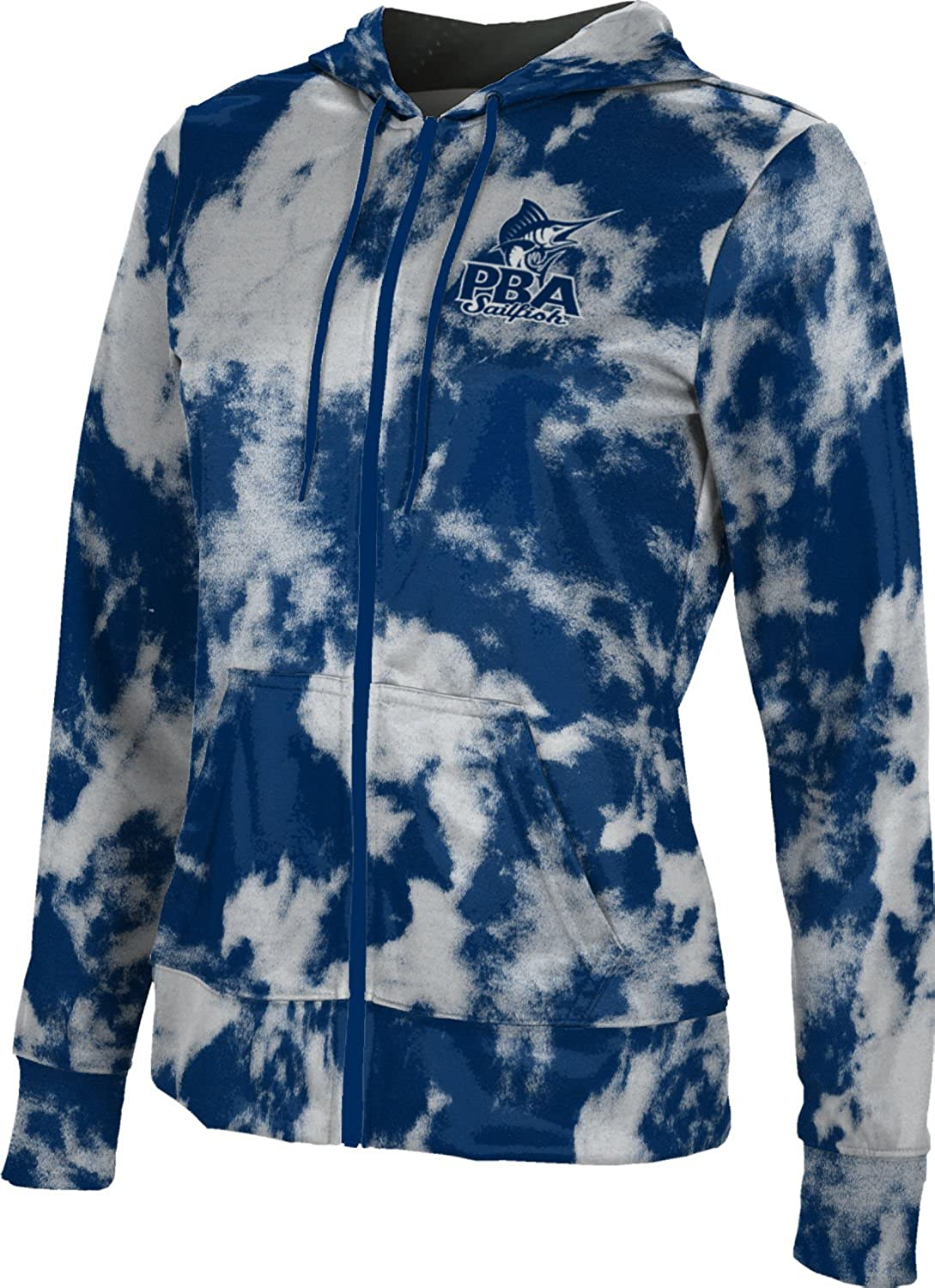 School Spirit Sweatshirt Palm Beach Atlantic University Girls Zipper Hoodie Grunge