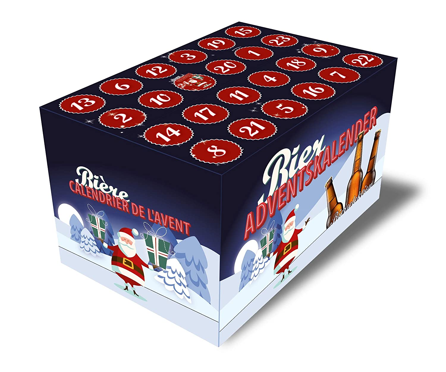 Beer Advent Calendar Green blue boxclusive® GmbH
