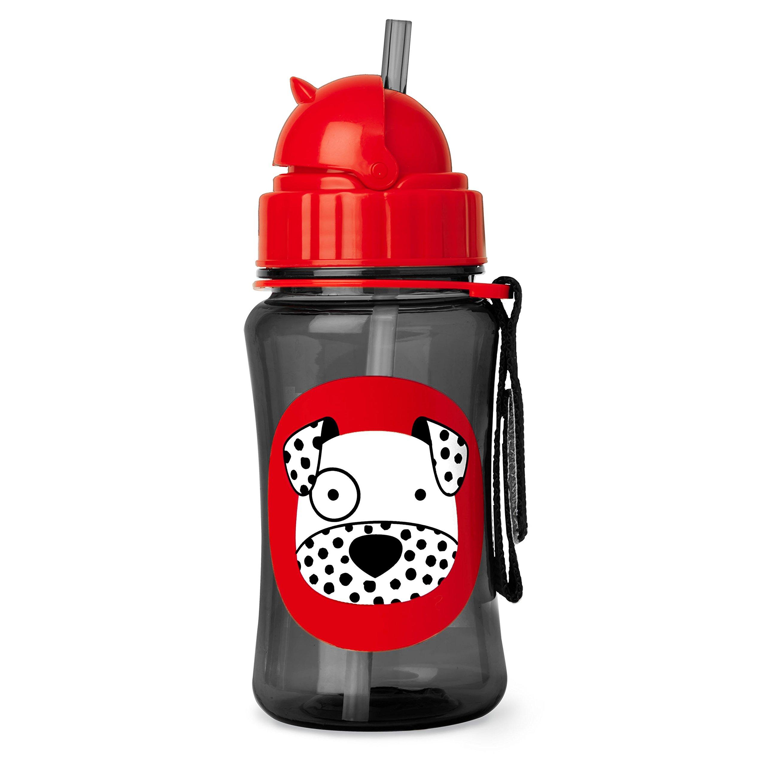 Skip Hop Zoo Straw Bottle, Dax Dalmatian