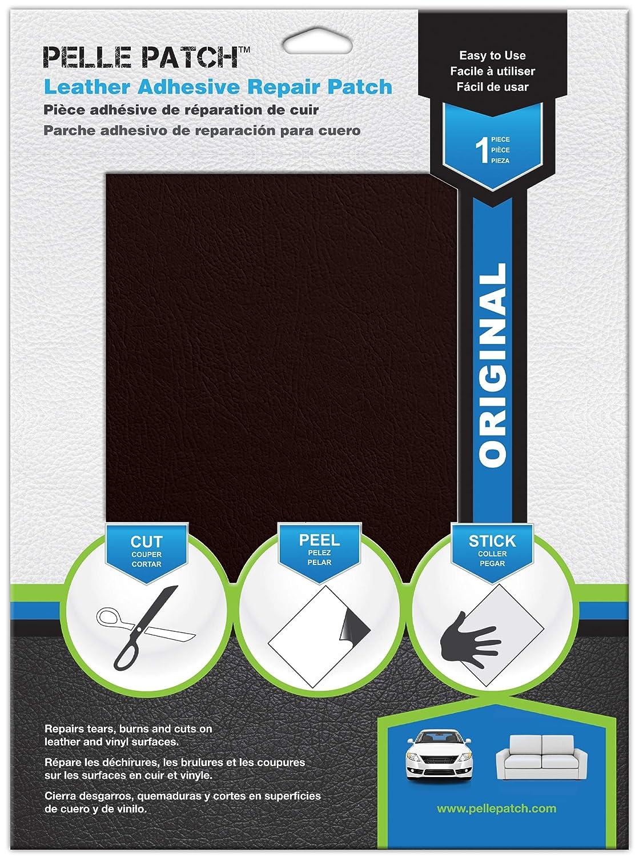 25 Couleurs Disponibles Pelle Patch Pièce adhésive de réparation de Cuir Vinyle