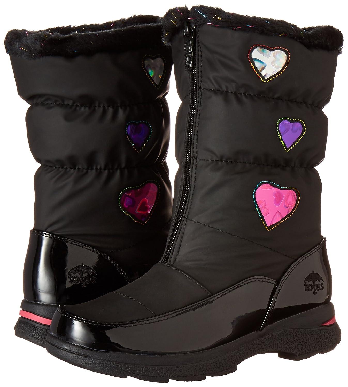 totes Girls Heartful Waterproof Snow Boot