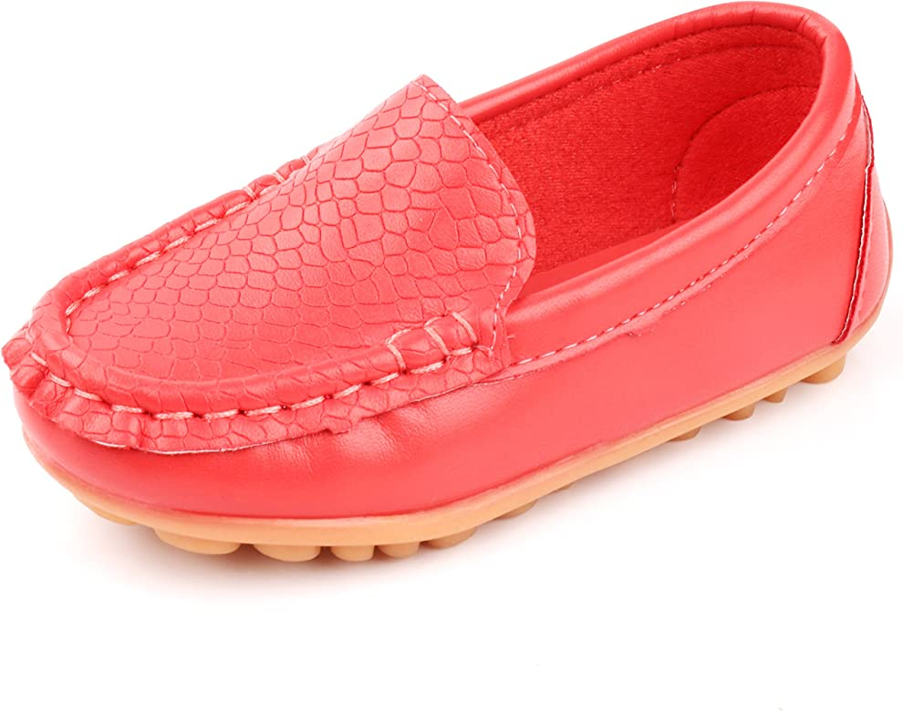 NEW Toddler Girls Tennis Shoes Size 8 Pink Loafers Sneakers Slip On Lace Flats
