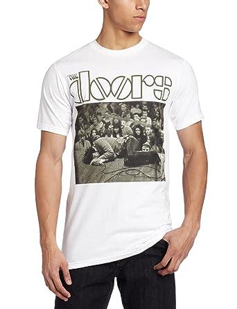 Bravado Men\u0027s Doors Jim Floored T-ShirtWhiteSmall  sc 1 st  Amazon.com & Amazon.com: Bravado Men\u0027s Doors Jim Floored T-Shirt: Music Fan T ...