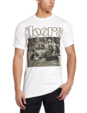 0791050f97e8 Amazon.com: Bravado Men's Doors Jim Floored T-Shirt: Clothing