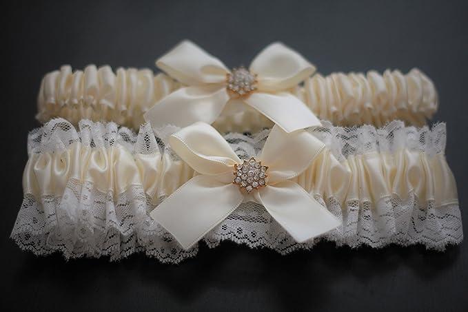 Wedding Ceremony Hello Kitty Rhinestone Garter Bridal Garters Toss Blue
