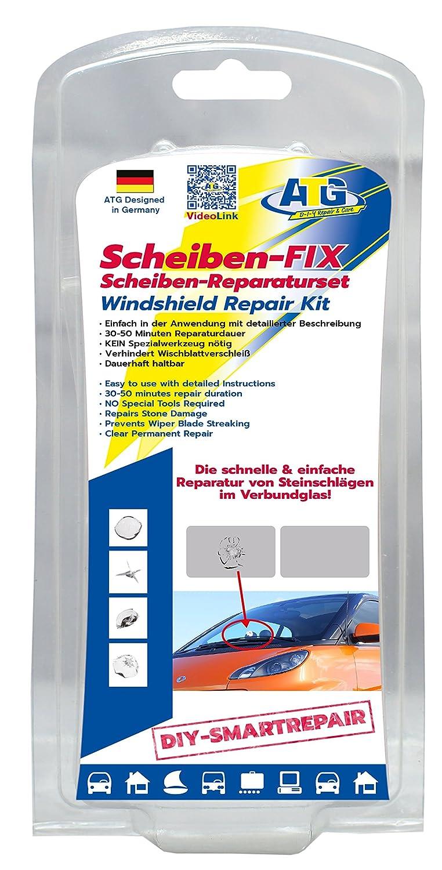 ATG Scheiben-FIX –Scheiben-Reparaturset zur Beseitigung von kleinen ...