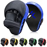 Xnature Boxing Pads Focus Mitts,Punching Mitts Great for MMA, Martial Arts, Kickboxing,Muay Thai, Kickboxing,Hook and…