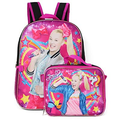 Nickelodeon Jojo Siwa Backpack Lunchbag Set (Rainbow) | Kids' Backpacks