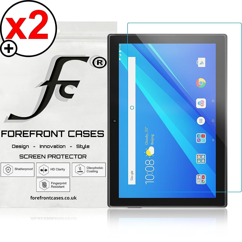 Forefront Cases Lenovo Tab 4 10 - TB-X304F Protector De Pantalla Screen Protector Defensa Membrana Película - 2 Piezas