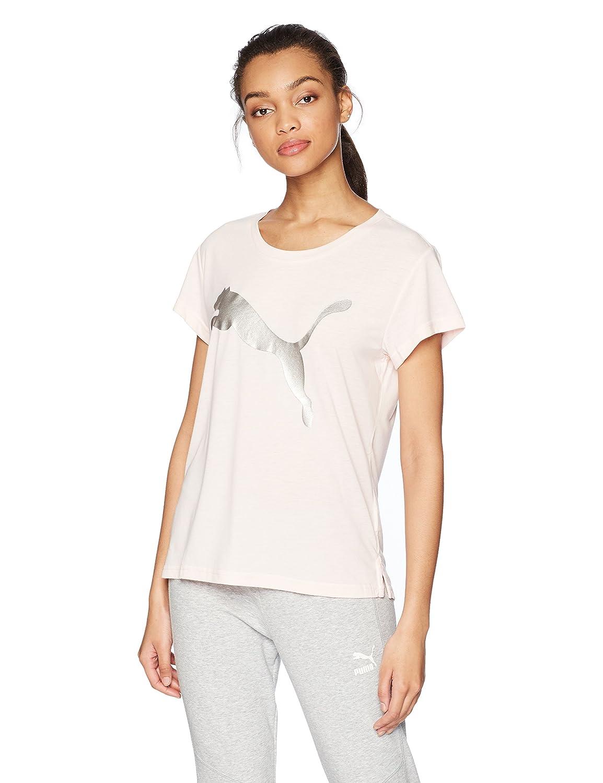 90f59b95 PUMA Women's Urban Sports Logo Tee at Amazon Women's Clothing store:
