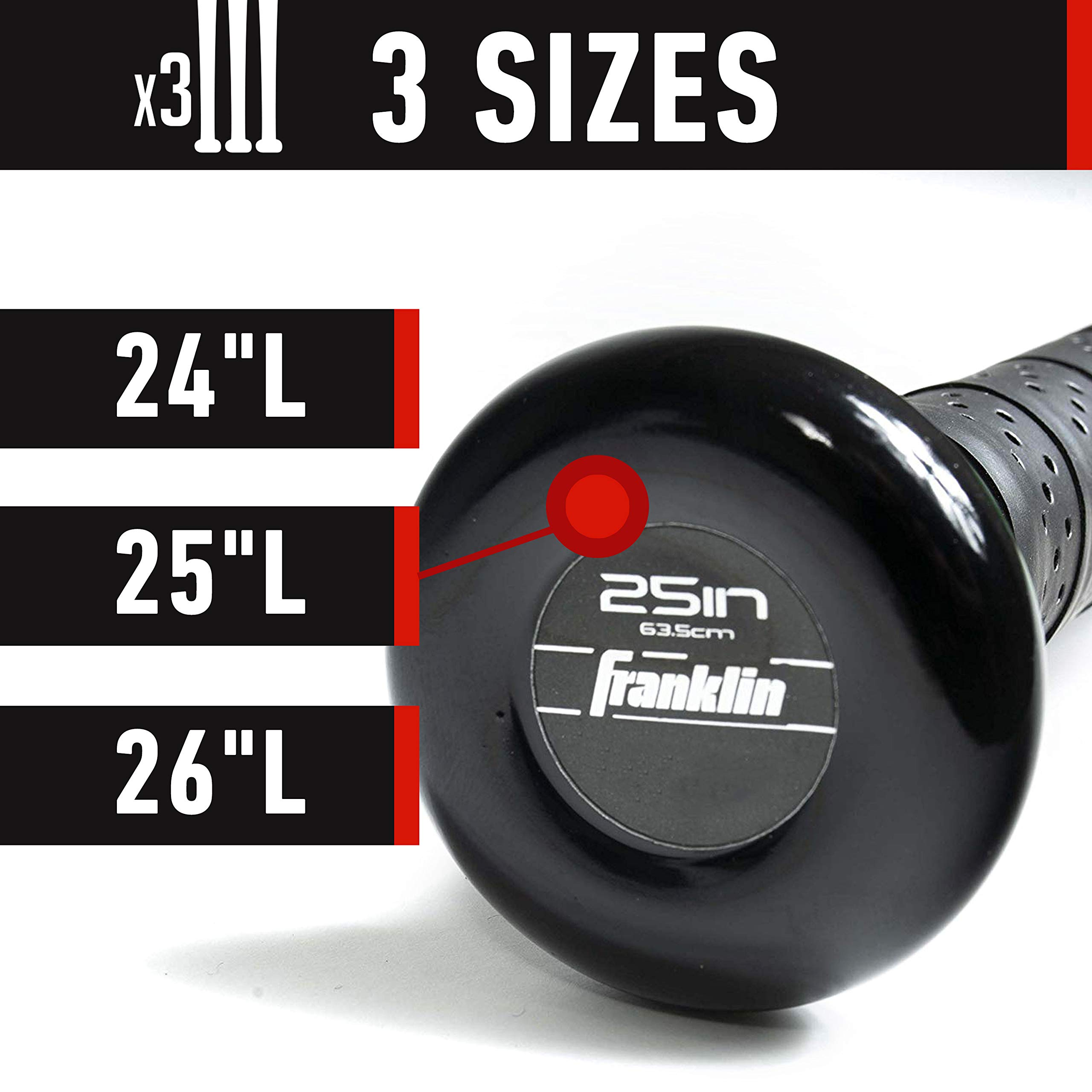 Franklin Sports Venom 1000 Official Teeball Bat - 26'' (-10) - Perfect for Youth Baseball and Teeball by Franklin Sports (Image #9)