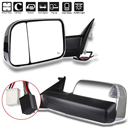Amazon Com Eccpp Towing Mirror Replacement Fit For 2010 Dodge Ram