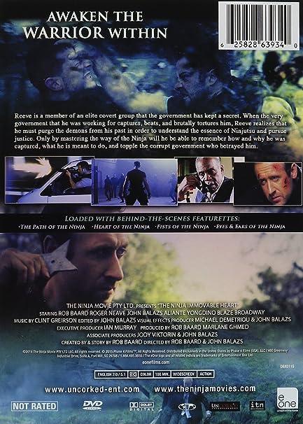 Amazon.com: The Ninja: Immovable Heart: Rob Baard, Roger ...