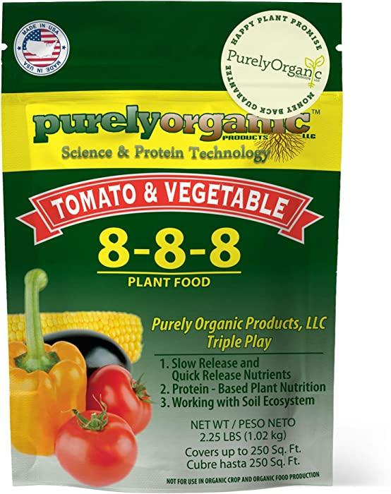 Updated 2021 – Top 10 Organic Tomato And Vegetable Food