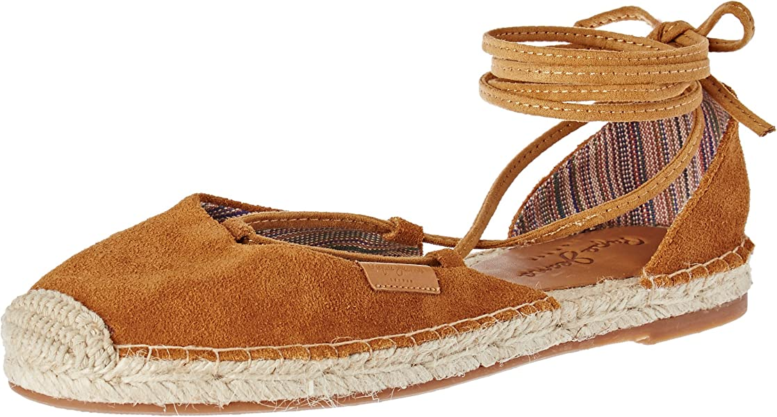 Pepe Jeans London - Alpargata Mujer, Marrón (Nut Brown), 41 (EU
