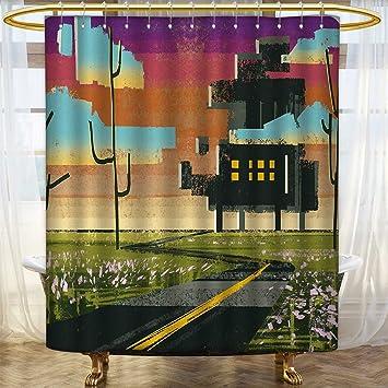 Amazon.com: Fantasy Colección de cortinas de ducha por Lady ...