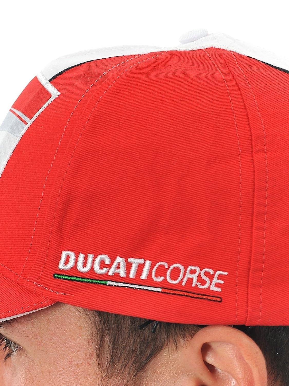 DUCATI MOTOGP CAP RED//WHITE