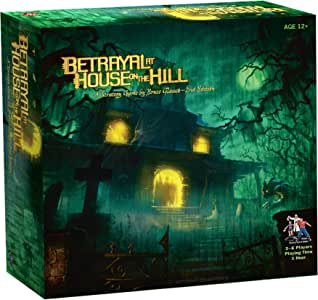 Avalon Hill / Wizards of The Coast 26633 Betrayal at House on The ...