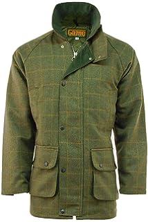 New Mens Tweed Hoodie Hooded Jacket Coat Zip Up Wool Hoody Casual Waterproof Top