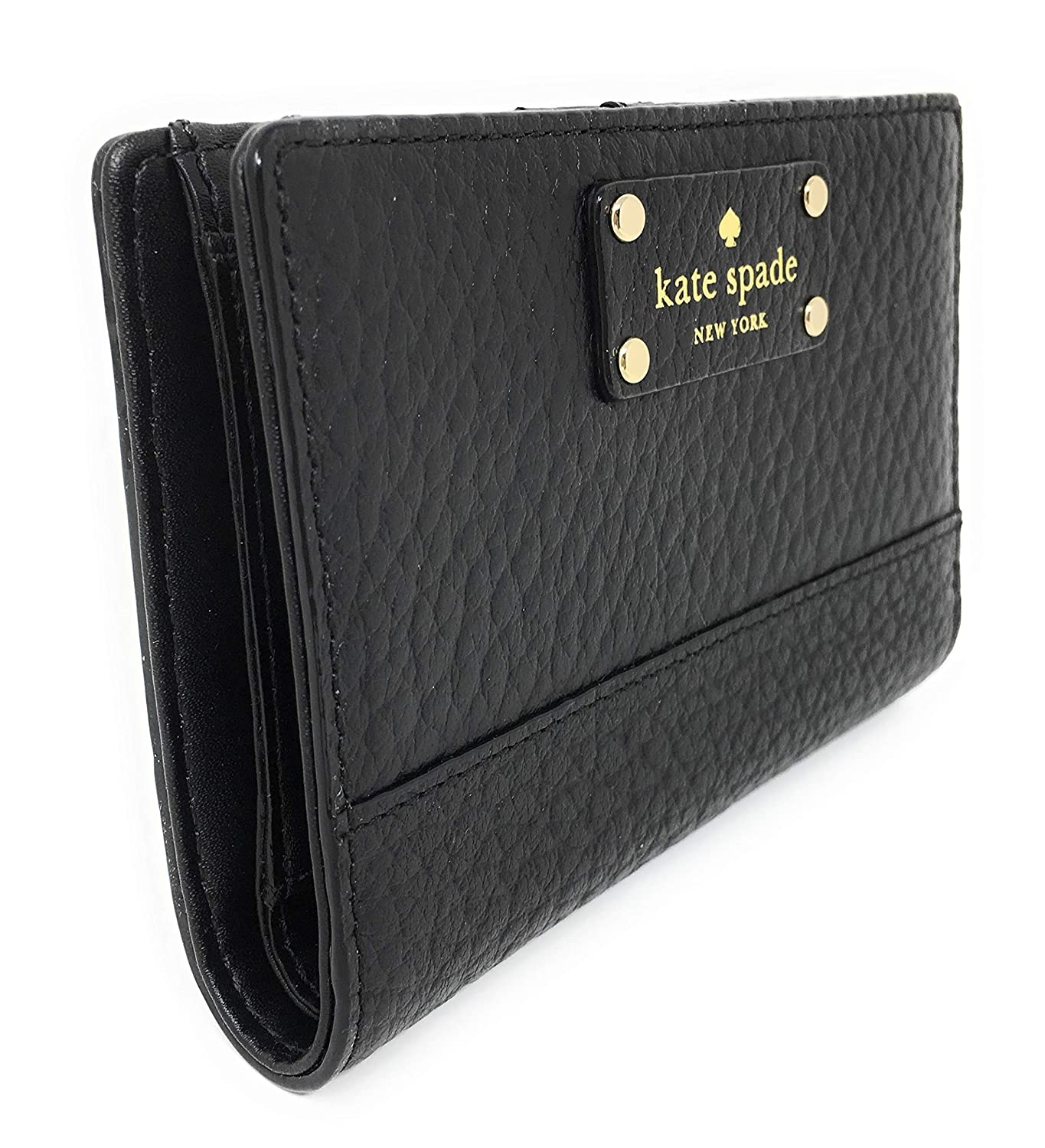 8240486c7b92 Amazon.com: Kate Spade Bay Street Tellie Small Leather Bifold Wallet ...
