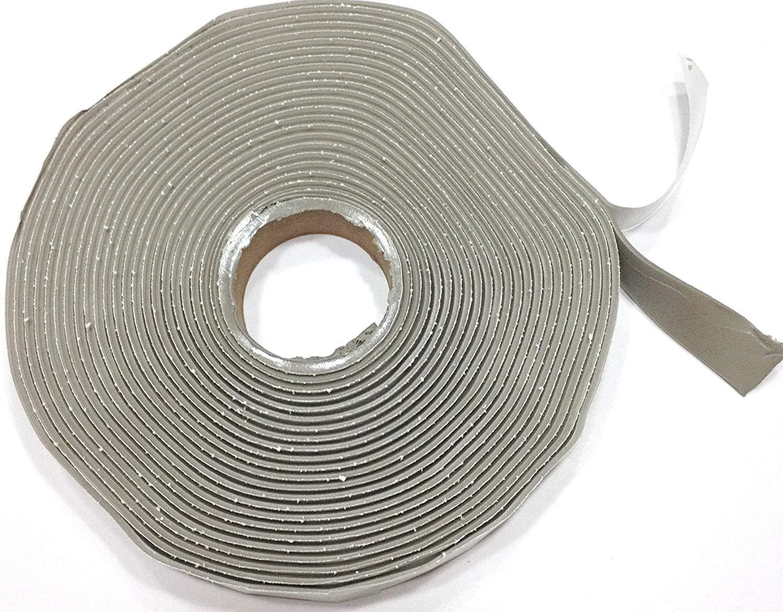 Colorimetrics Gray Putty Tape/Butyl Tape 1/8'' x 3/4'' x 30' (Single Roll)