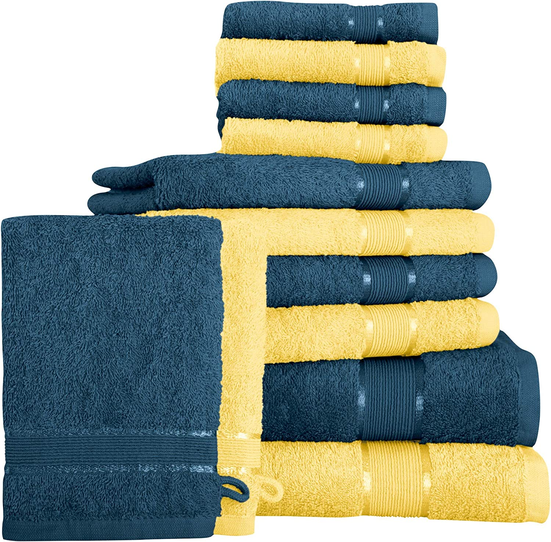 Handtuch Duschtuch Badetuch Gästetuch Waschhandschuh Handtücher Strand Baumwolle