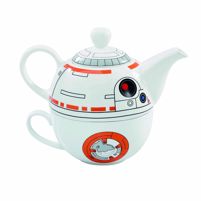 Amazon.com | Star Wars BB 8 Ceramic Teapot And Cup Set 12 Ounce Pot, 6  Ounce Mug: Teapots