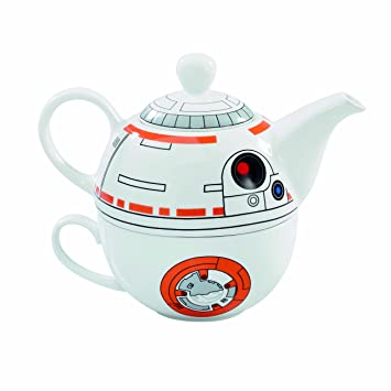 Star Wars BB-8 Teekanne + Tasse Teekanne orange/weiß: Amazon.de ...