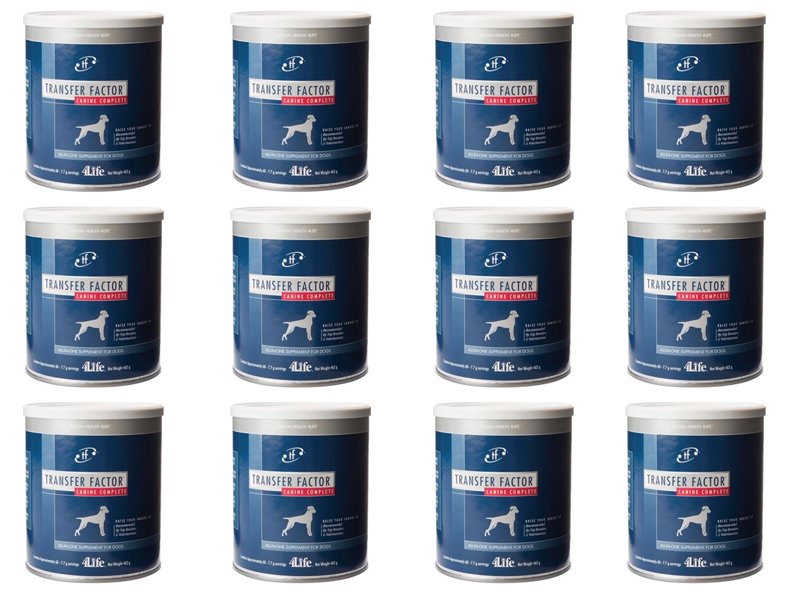 4Life Transfer Factor Canine Complete for Pets with Essential Vitamins & Protein (pack of 12)
