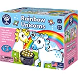 Orchard Toys Rainbow Unicorns Game | Fun and Educational Heads and Tails Game, Two Ways to Play! Develops Color…