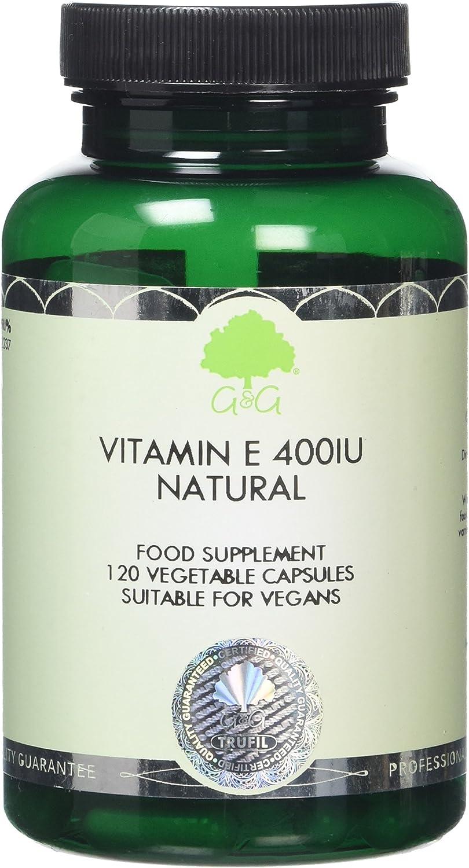 G&G Vitamins Vitamin E 400iu Natural D-Alpha Capsules