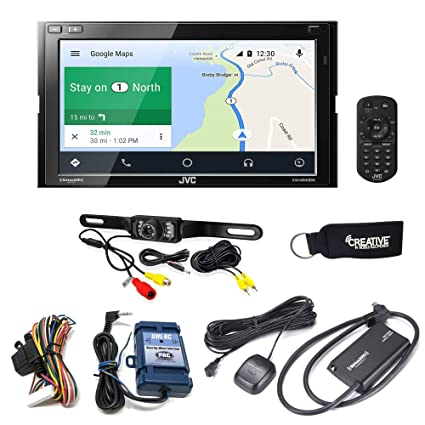 Amazoncom Jvc Kw M845bw Compatible With Wireless Android Auto