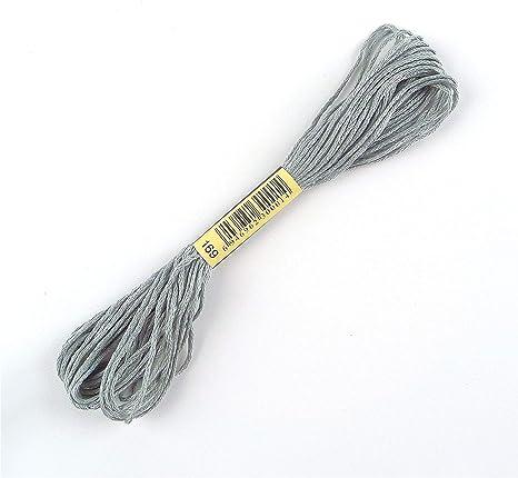 pro Kn/äuel 420 Str/änge DMC Stickgarn aus Baumwolle
