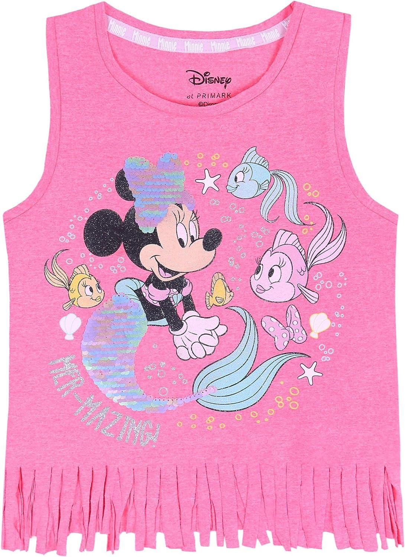 Canottiera Rosa con Frange Minnie Disney