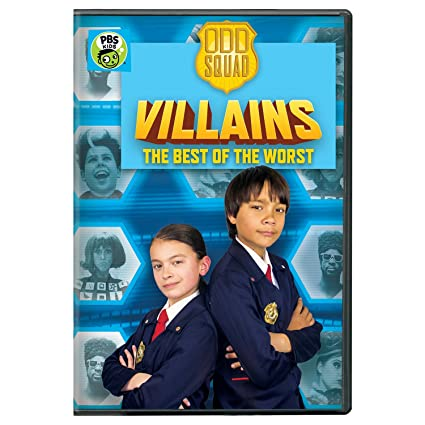 Odd Squad: Odd Squad Villains - The Best of the Worst DVD