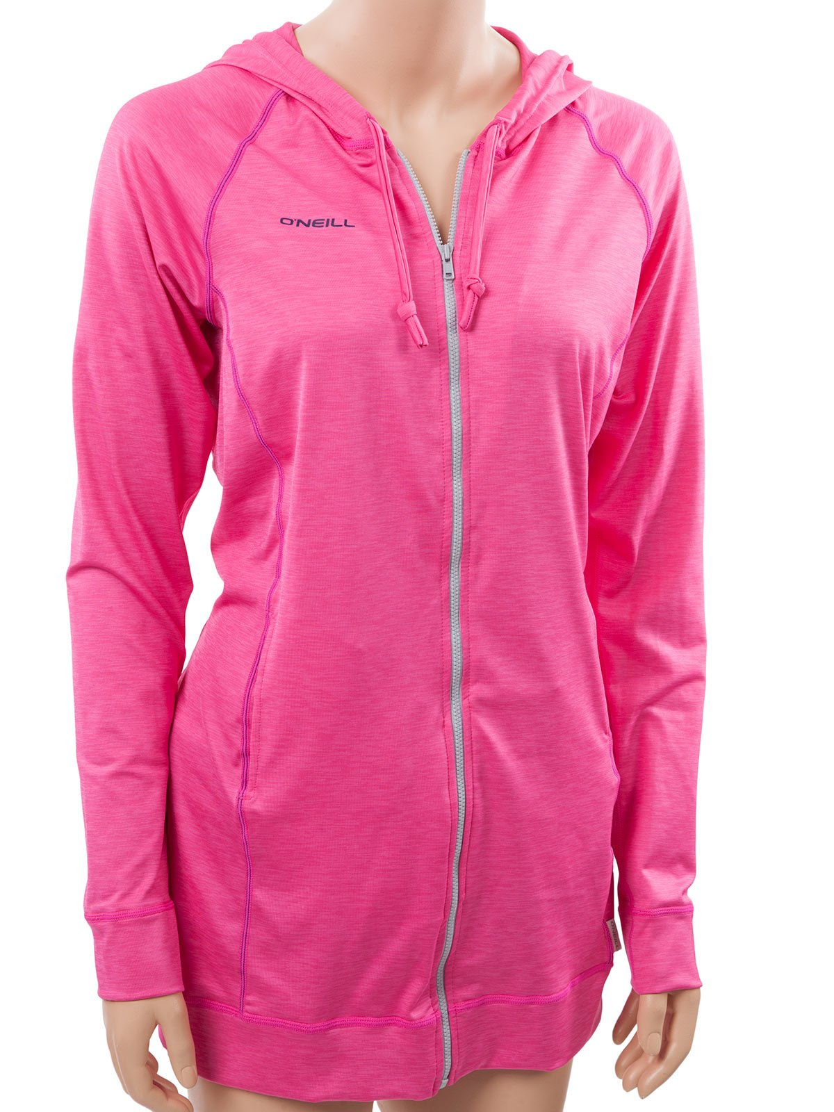O'Neill Women's 24/7 Hybrid Long Zip Hoody XS Berry/navy (4704S)