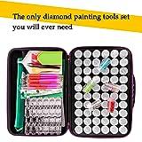 60 Slots Diamond Embroidery Box, 142pcs 5D