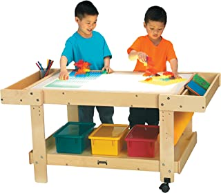 product image for Jonti-Craft 58505JC Creative Caddie Light Table with 2 Bins