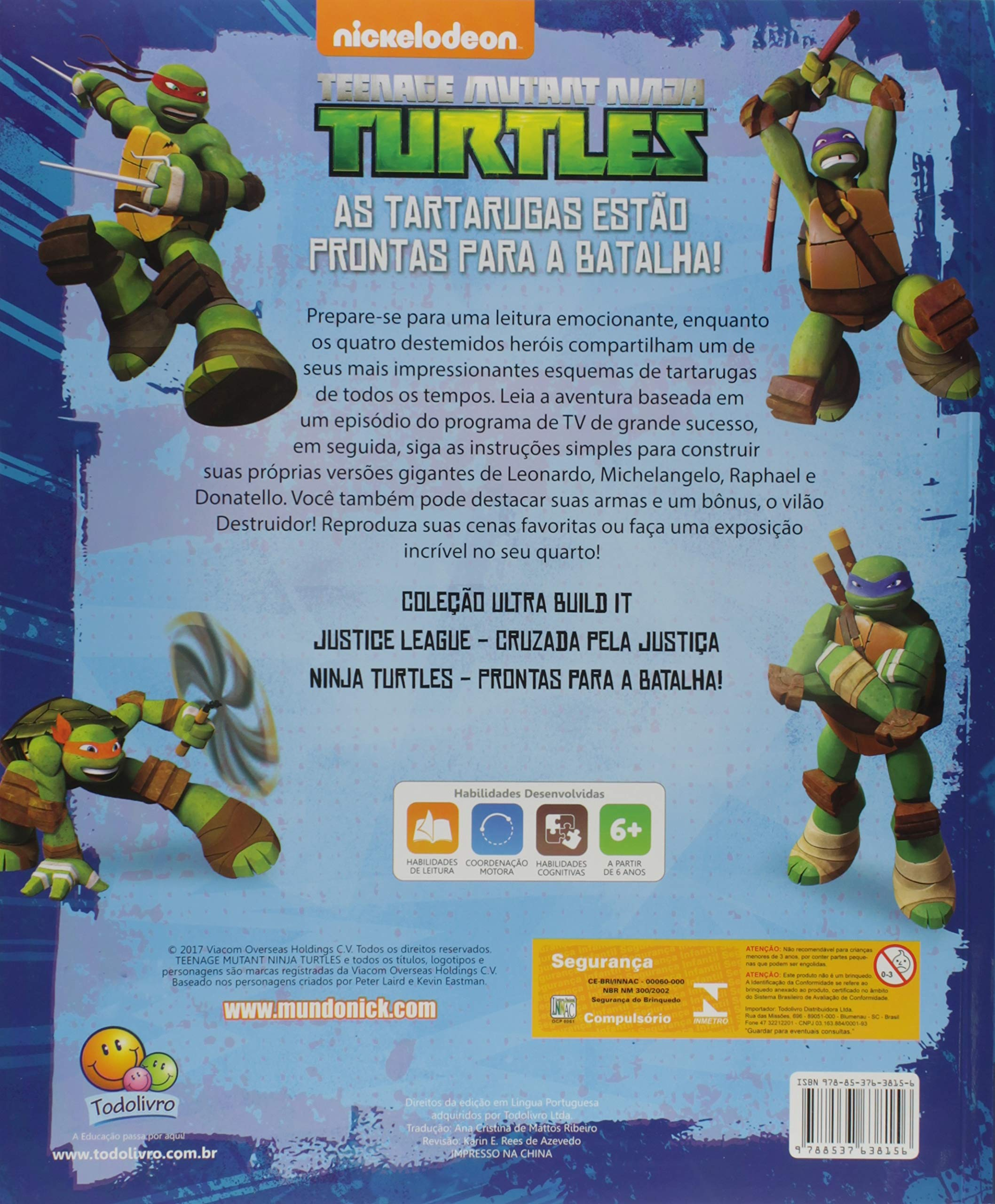 Ultra build it: Ninja turtles - Prontas para a batalha ...