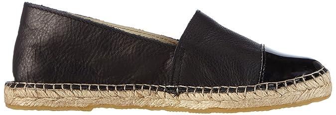 Women/'s Espadrilles Pieces Psjosephine Leather Espadrillos