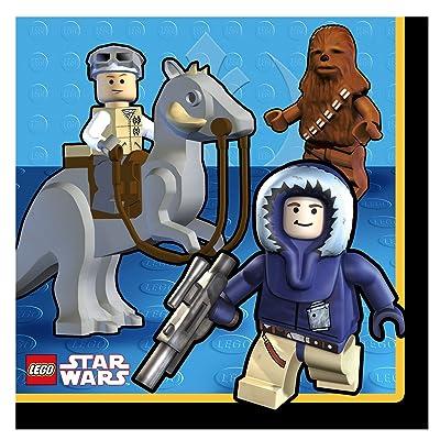 LEGO Star Wars Large Napkins (16ct): Toys & Games