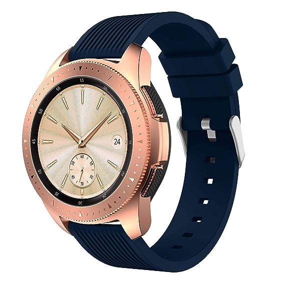 Amazon.com: Senter for Samsung Galaxy Watch 42mm Band,20mm ...