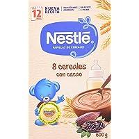 NESTLÉ Papilla 8 Cereales con Cacao - Alimento